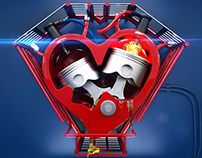 V-twin Heart
