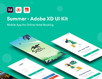 Summer - Adobe XD UI Kit