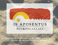 """IS APOSENTUS B&B"" / Logo and Business Card"