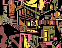 ILLUSTRATION - FAVELA