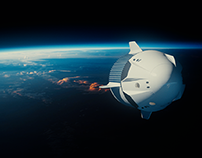 SpaceX Rocket/Ship Renders