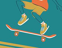 Gold Plated Skater