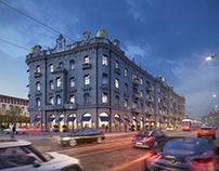 BRISTOL HOTEL   BUREAU CUBE
