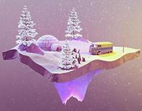 Hippy - Winter Penguins