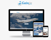 GainJet - New website
