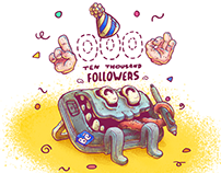 10 000 FOLLOWERS | Fiesta