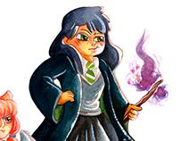 Harry Potter - Sonserina Student