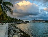 Blue Miami Sky