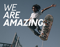 We Are Amazing.
