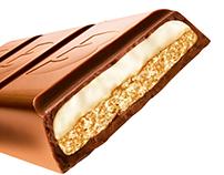 chocolate bars 3Bit, Alpen Gold & I love Milka