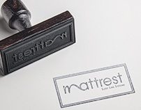 mattrest logo creation