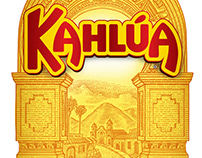 Kahlua Packaging Label Illustrated by Steven Noble