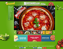 Pizza & Pasta Online Shopping UI
