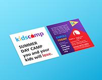 kids camp branding