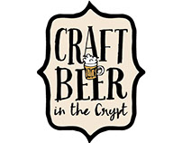 Craft Beer in the Crypt Logo Designs