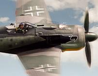 P-51 MUSTANG VS. FW 190 - EUROPE 1943-45