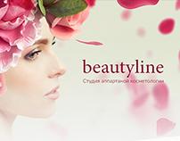 Beautyline – Website for beauty clinic
