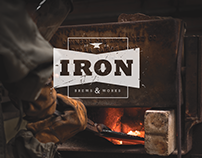 IRON | Brewery Menu Design