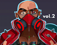 Bullet Echo - heroes animation vol.2