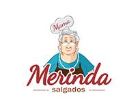 Mascote - Mama Merinda Salgados