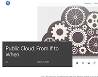 Public Cloud: From If to When