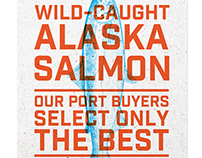Whole Foods Market Wild-Caught Alaska Salmon Concepts