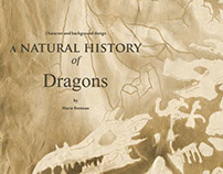 Diseño de fondo: A natural History of Dragons