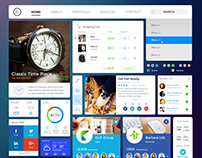 Shopping / Social UI Kit • Download Link