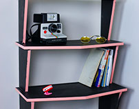 Chevron Bookshelf