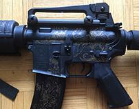 Airsoft-gun art