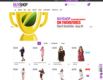 Template site E-commerce