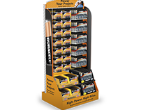 DURACELL BATTERY DISPLAYS