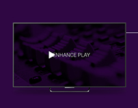 Ehance Play is an Android TV Music player app. Perfect