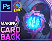Making a Hearthstone style Cardback [Tutorial Includes]