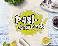 Branding & logo design for Pasibrzuszek (catering)