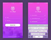 UX/UI design for mobile app
