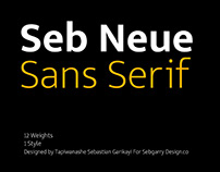 SEB NEUE - FREE MINIMAL MODERN SANS SERIF FONT FAMILY