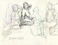 Sketchbook. Part 4