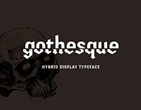 Gothesque – hybrid typeface