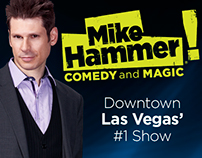Mike Hammer Comedy and Magic-Las Vegas Show