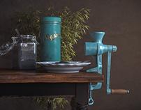 The poppy grinder
