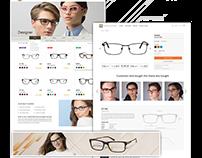 UI/UX for Eyewear