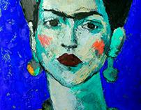 Frida 35X25