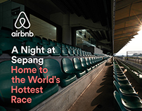 airbnb – WELCOME HOME TO THE FORMULA 1