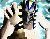 Giant Anubis