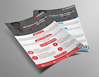 Corporate Business Flyer Template | Freebie