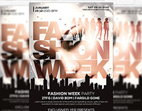 Fashion Week – Premium Flyer Template + Facebook Cover