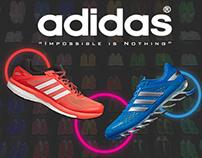 Adidas Homepage Design