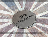 Custom Stainless Steel Coaster with Screenprinted Color
