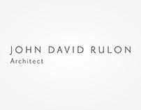 John David Rulon, Architect